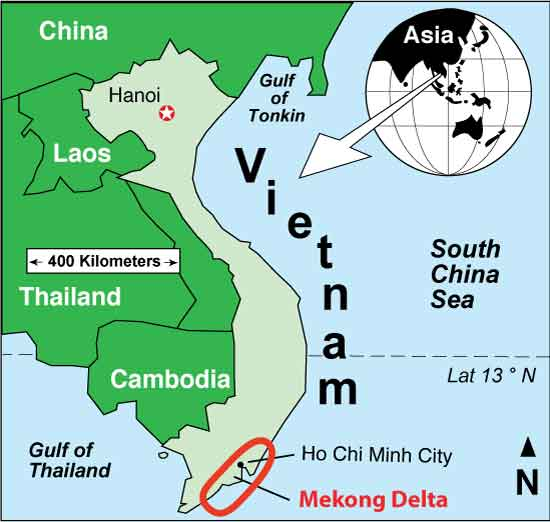 Vietnam Problems Continue in the Mekong Delta—An Update